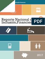 Reporte Nacional de Inclusión financiera