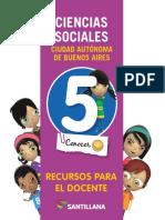 c. Sociales 5 Santillana