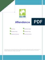 Attendance User Guide 2013