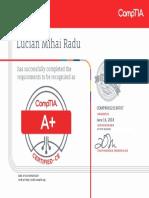 CompTIA A+ ce certificate.pdf