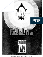 Farolito - Agustin Lara