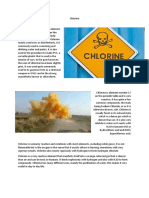 Chlorine Report