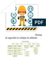 Normas de Seguridad en Trabajos de Asfaltado
