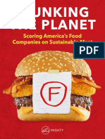 Flunking the Planet Americas Leading Food Companies Fail on Sustainable Meat