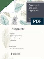 Arguments Session 3