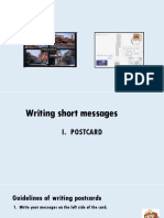 Writing Postcard PPT -New
