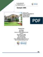 eNeighborhoods CMA Sample