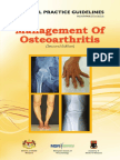 CPG Management of Osteoarthritis (Second Edition)