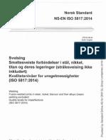 EN ISO 5817 2014