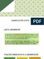 Carta de motivación/presentación