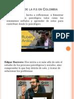 Autores de La psicología social en Colombia