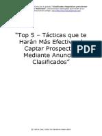 5 tacticas para captar prospectos
