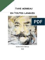 Octave Mirbeau en toutes langues