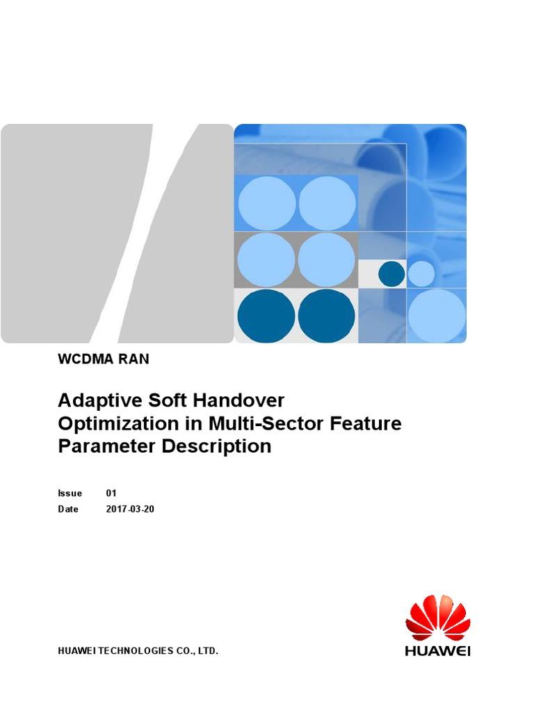 Adaptive Soft Handover Optimization in Multi-Sector(RAN19
