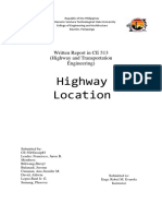 Final- Highway Surveys and Location