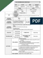 SK Permai Lesson Plan CEFR Y1