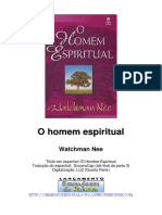 Watchman Nee O Homem Espiritual