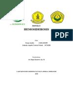 REFERAT HEMOSIDEROSIS