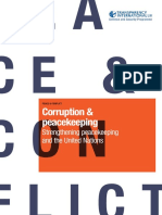 Corruption and Peacekeeping