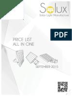 Solux All in One Pricelist November