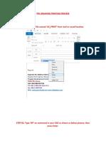 Pdl Drawing Printing Process