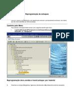 SAP V_V2 - Reprogramação de Esto