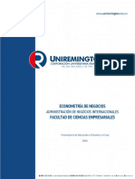 Econometria de Negocios_2016 - Negocios