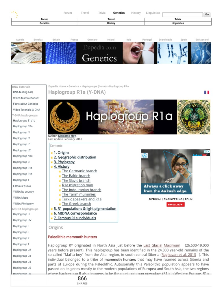 Haplogroup R1a (Y-DNA) - Eupedia pdf