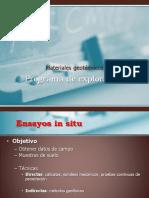 Programa de Exploración