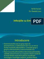 Infectiile Cu Enterovirusuri