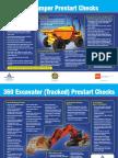 Site Dumper 360 Excavator Pre-start Checks