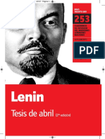 Lenin -Tesis de Abril
