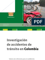 Libro Investigacion Accidentes de Transito en Colombia