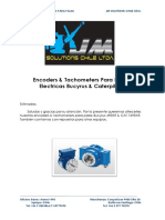 Encoders & Tachometers de Palas Electricas Bucyrus & Caterpillar