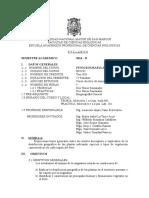Fitogeografia Del Peru Plan 2003, Prof. Asuncion Cano, Sem 2014-2