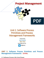 Unit 2. Software Process Primitives and Process Management Frameworks