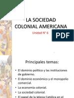 Unidad N_ 6 La Colonia en America
