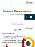 Equipment Risk Management_ a Quality Systems Approach_ PRES_Palash Das