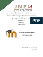 Tic Plataforma Moodle