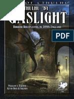 Cthulhu by Gaslight - 3rd Ed