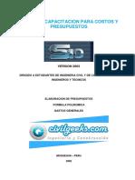 CURSO DE CAPACITACION PARA COSTOS Y PRESUPUESTOS.pdf