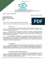 SUPOSTO CORTES NAS BOLSAS DE PESQUISAS DE PÓS GRADUAÇÃO EM 2019