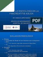 Papel de La Radiología en La Pancreatitis Aguda