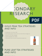 Secondary Research Ad Campaigns