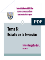 Tema 6 e28093 Estudio de La Inversion