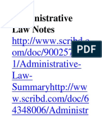 Administrative Law Notes August 2018.docx