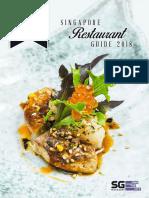 Singapore Restaurant Guide 2018