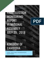 CAMBODIA ELECTION 2018