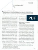 A Content Analysis of LGBTQ Qualitative
