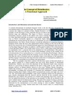 Perez - The Concept of Metatheatre